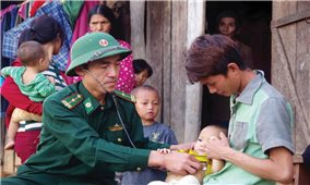 Bộ đội Biên phòng tham gia củng cố hệ thống chính trị
