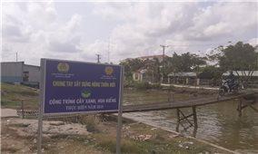 Các xã bãi ngang ở Cà Mau: Khó về đích nông thôn mới bởi tiêu chí môi trường
