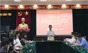 Gặp mặt Đoàn học sinh Trường Phổ thông Dân tộc nội trú tỉnh Lâm Đồng