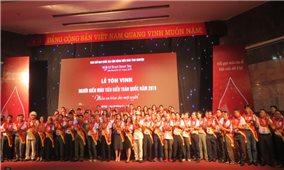 Lễ tôn vinh 100 người hiến máu tiêu biểu toàn quốc 2019