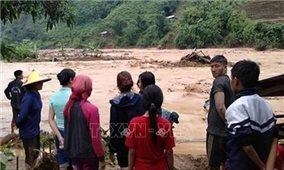 Mưa lớn, lũ đột ngột đổ về gây thiệt hại lớn ở Lai Châu