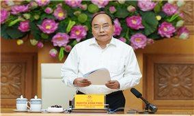 Thủ tướng Nguyễn Xuân Phúc chủ trì phiên họp Tiểu ban Kinh tế-Xã hội