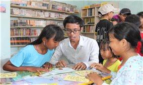 Thư viện cộng đồng giữa làng Chăm Hoài Ni