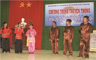 Phát huy Nghệ thuật Bài chòi để xây dựng đời sống văn hóa