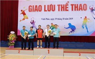 Khối thi đua các bộ, ngành tổng hợp giao lưu thể thao năm 2019