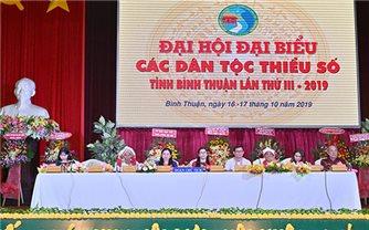 Đại hội Đại biểu các DTTS tỉnh Bình Thuận lần thứ III năm 2019