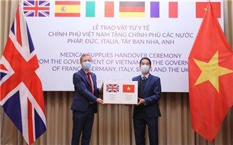 Báo Mỹ ca ngợi Việt Nam viện trợ cho EU chống đại dịch Covid-19