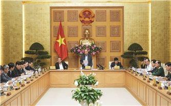 Thủ tướng chủ trì họp Thường trực Chính phủ về phòng chống dịch Covid-19