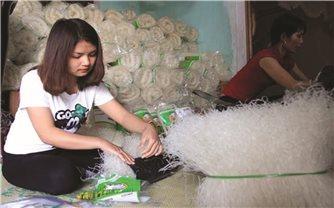 Liên kết bốn nhà để sản xuất nông sản bền vững