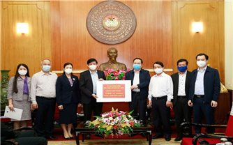 Ủy ban Trung ương MTTQ Việt Nam phân bổ số tiền 150 tỷ đồng cho Bộ Y tế để phòng chống dịch