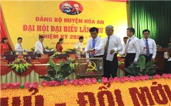 Đại hội Đảng bộ huyện Hòa An (Cao Bằng) thành công tốt đẹp