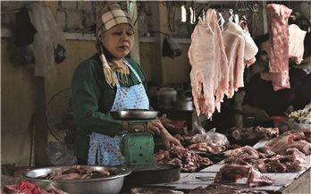 Giá thịt lợn tăng chóng mặt