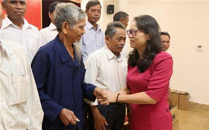 Ủy Ban Dân tộc: Gặp mặt Đoàn đại biểu Người có uy tín tỉnh Phú Yên