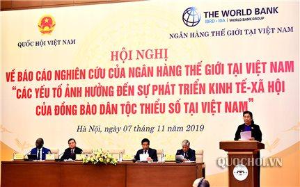 Nghiên cứu của Ngân hàng Thế giới rất có ý nghĩa đối với sự phát triển vùng DTTS của Việt Nam