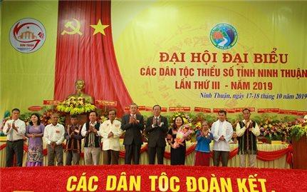 Đại hội Đại biểu DTTS tỉnh Ninh Thuận lần III: Tạo chuyển biến mạnh mẽ trong công tác dân tộc