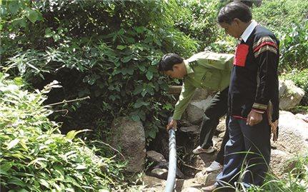 An ninh nguồn nước cho đồng bào DTTS