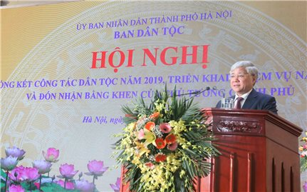 Ban Dân tộc TP. Hà Nội: Tổng kết công tác dân tộc năm 2019 và triển khai nhiệm vụ 2020