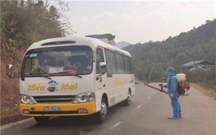 Mường Nhé (Điện Biên): Tăng cường ngăn dịch Covid-19