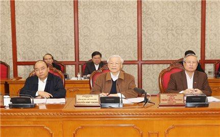 Thông báo kết luận của Bộ Chính trị về công tác phòng, chống dịch bệnh COVID-19