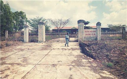 Trường mầm non tiền tỷ bỏ hoang