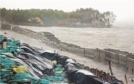 Đồng bằng Sông Cửu Long: Sạt lở diễn biến nghiêm trọng