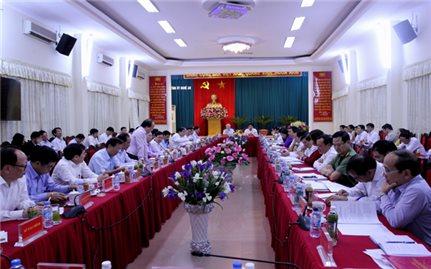 Bộ trưởng, Chủ nhiệm Đỗ Văn Chiến tháp tùng Tổng Bí Thư Nguyễn Phú Trọng thăm và làm việc tại Nghệ An