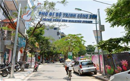 Khai trương phố đi bộ Trịnh Công Sơn (Tây Hồ, Hà Nội): Thêm một địa chỉ văn hóa của Thủ đô