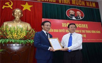Triển khai quyết định nhân sự Ban Bí thư Trung ương Đảng