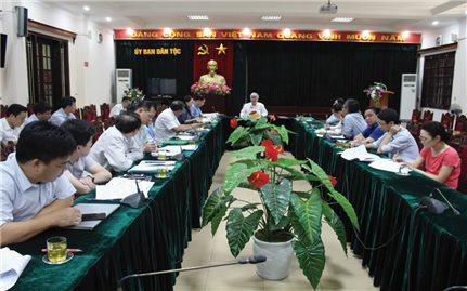Đẩy nhanh tiến độ xây dựng Đề án về chính sách ưu đãi đối với vùng đồng bào dân tộc Khmer