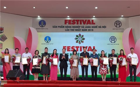 Khai mạc Festival sản phẩm nông nghiệp và làng nghề Hà Nội lần thứ nhất năm 2019