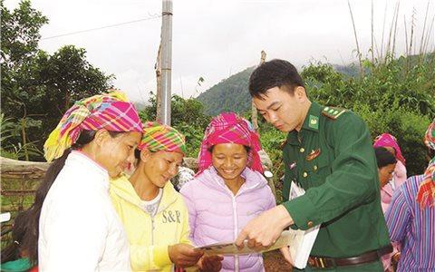 Huyện Ðiện Biên (tỉnh Điện Biên): Các xã đã đạt chuẩn tiếp cận pháp luật