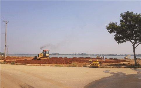 Ninh Bình: Doanh nghiệp ngang nhiên lấp hồ xây sân golf