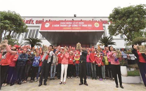 Công ty TNHH 888: Quan tâm người lao động để phát triển bền vững