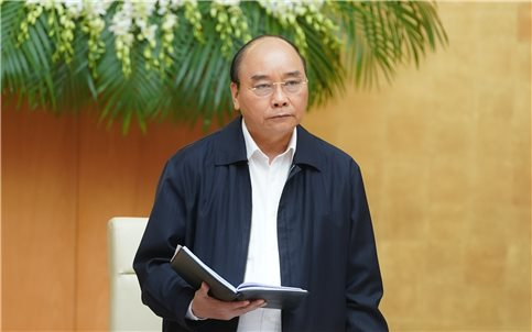 Thủ tướng Nguyễn Xuân Phúc chủ trì họp Thường trực Chính phủ về các kịch bản ứng phó dịch Covid-19