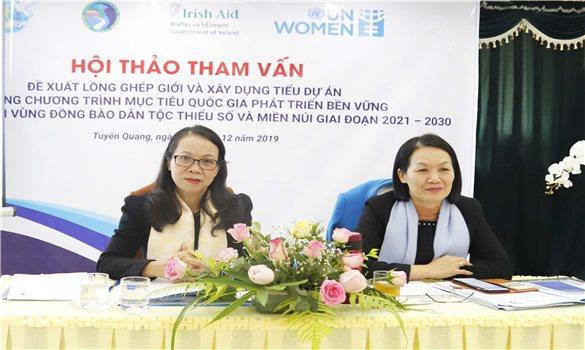 Hỗ trợ sinh kế - Nền tảng cho sự tiến bộ của phụ nữ DTTS