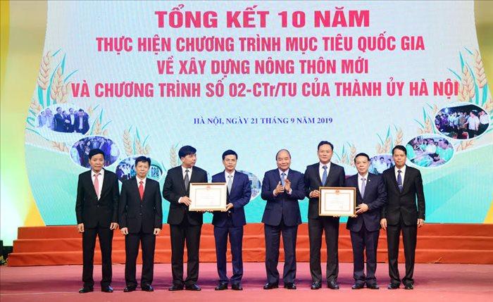 Hà Nội đạt nhiều kết quả nổi bật trong 10 năm xây dựng nông thôn mới