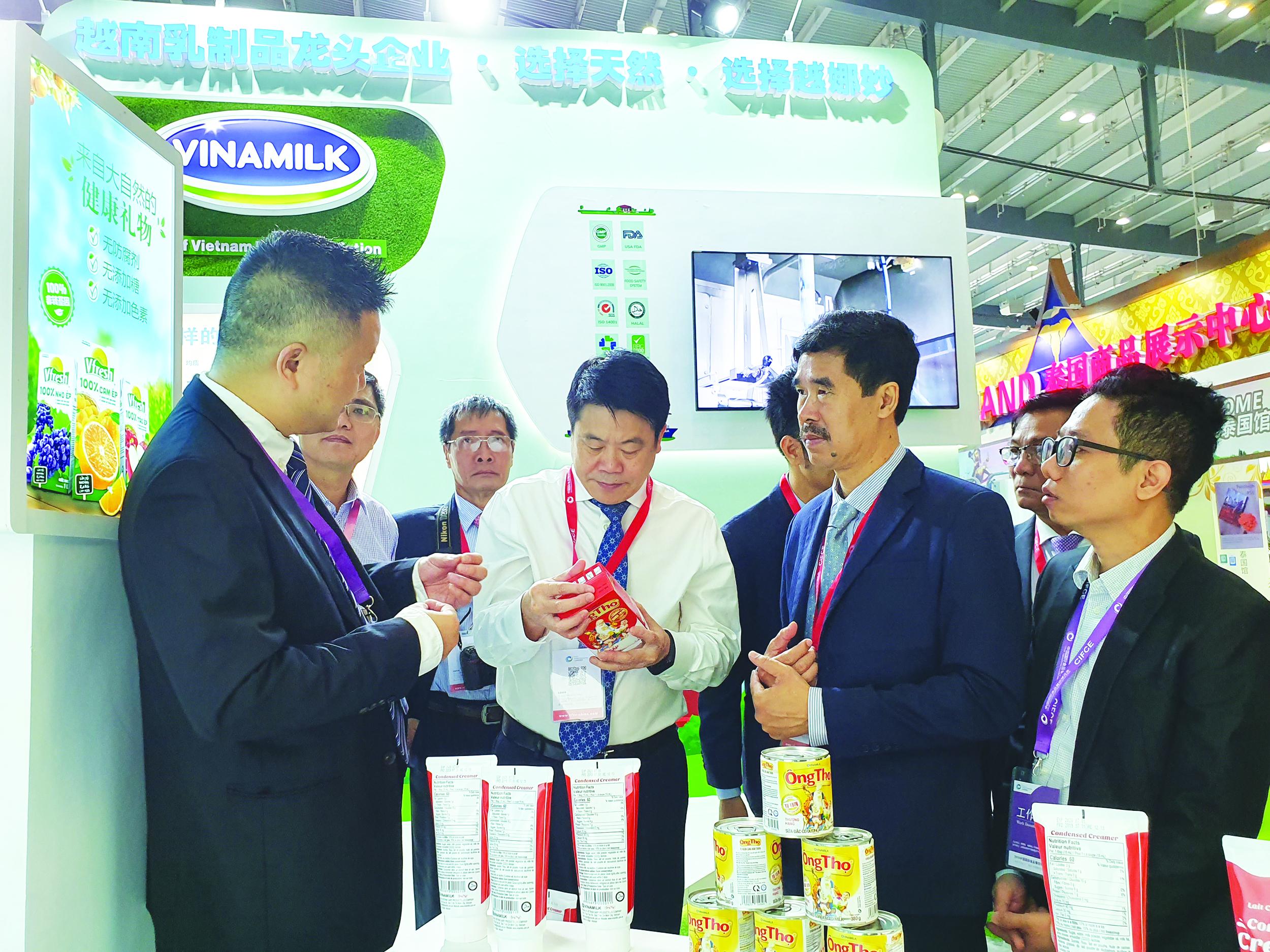 """Công ty Cổ phần sữa Việt Nam: """"Chào sân"""" ấn tượng tại thị trường Trung Quốc 1"""