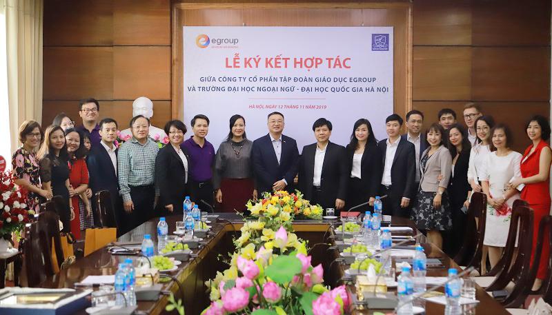 Sự hợp tác giữa Tập đoàn Egroup và Trường Đại học Ngoại ngữ - Đại học Quốc gia Hà Nội sẽ mở ra cơ hội lớn về đào tạo và việc làm cho sinh viên