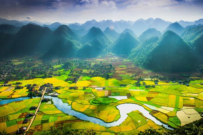 Thung lũng Bắc Sơn, nơi thu hút nhiều du khách đến du lịch và khám phá