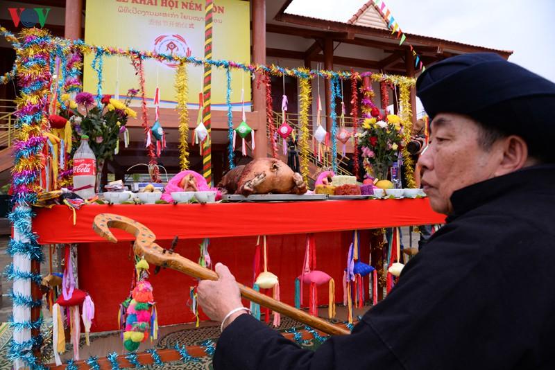 Lễ cúng còn được tổ chức trang nghiêm, nhằm cầu cho mưa thuận gió hòa, mùa màng tốt tươi, con người có nhiều sức khỏe