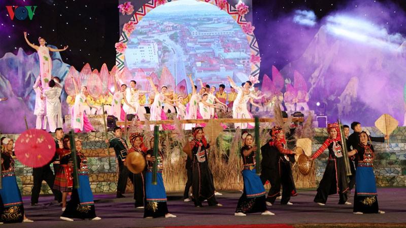 Lễ hội ném Còn 3 nước Việt - Lào - Trung tổ chức tại huyện Mường Tè, tỉnh Lai Châu