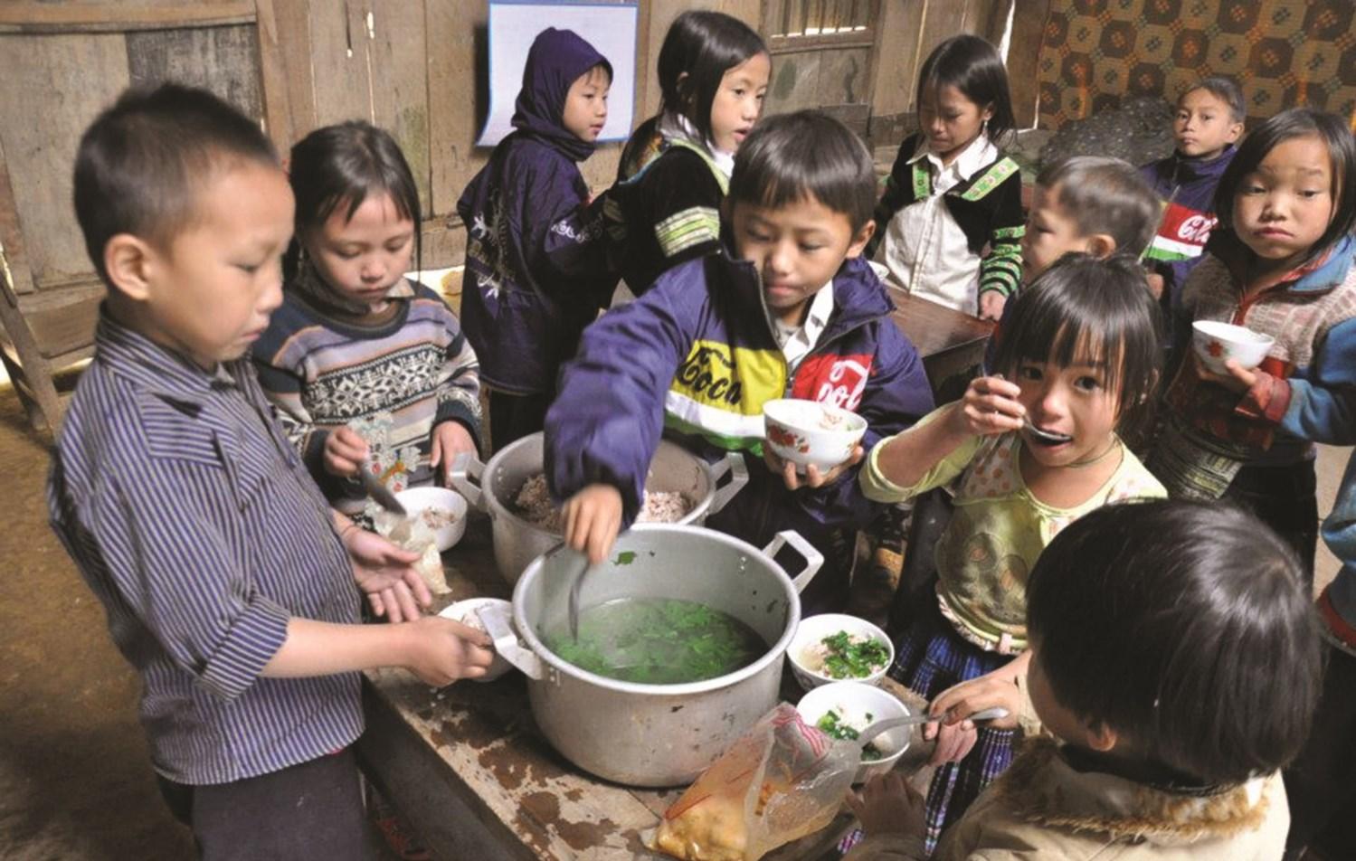Tỷ lệ trẻ em người DTTS suy dinh dưỡng vẫn còn ở mức cao