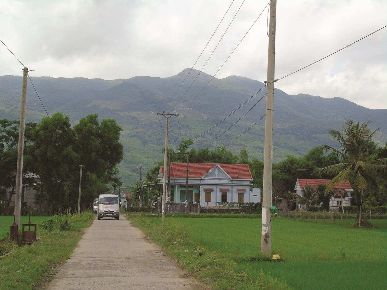 Nhờ tham gia XKLĐ, nhiều gia đình ở Hoài Ân đã thoát nghèo, xây dựng nhà cửa khang trang.