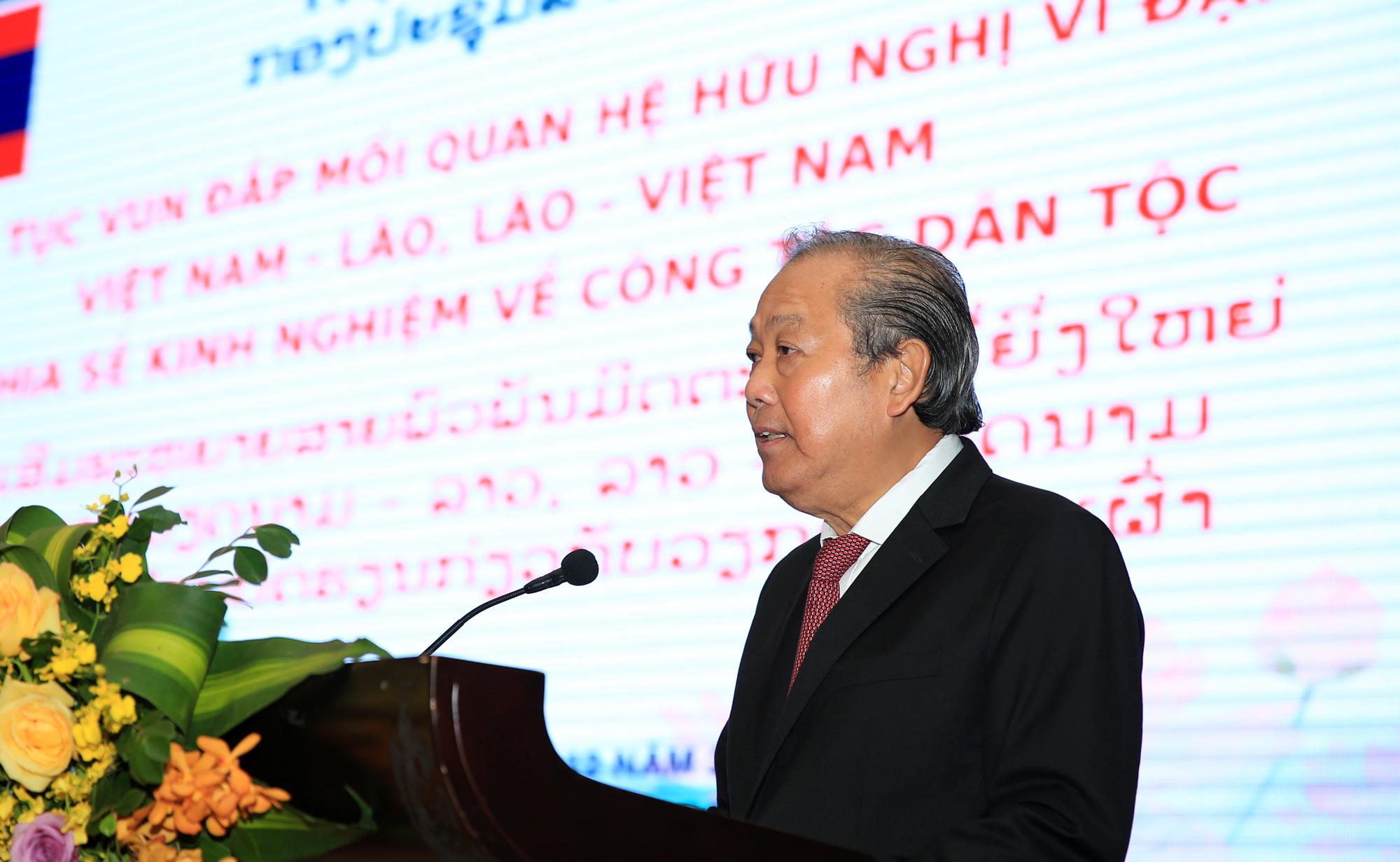 Phó Thủ tướng Thường trực Chính phủ Trương Hòa Bình phát biểu tại Hội thảo