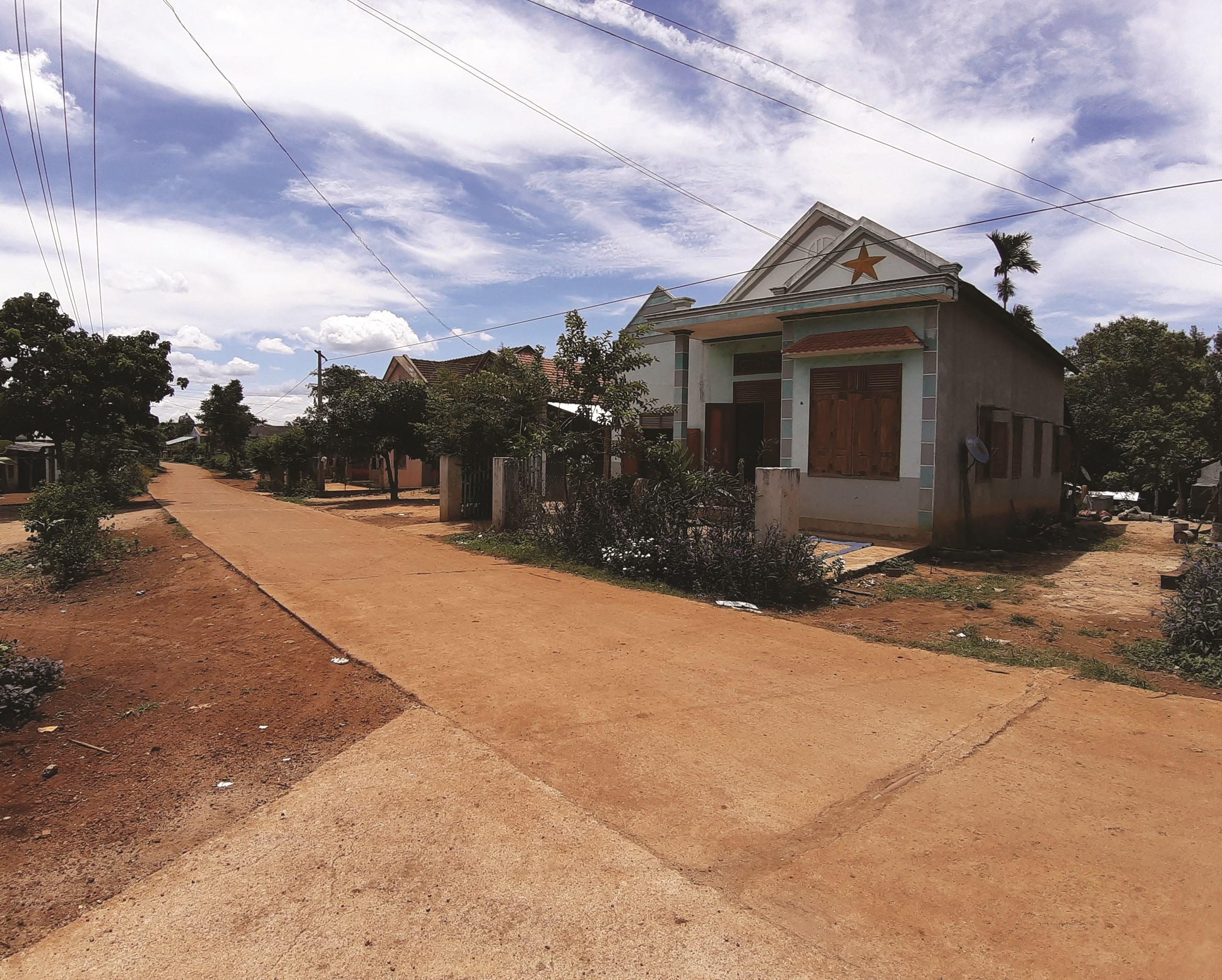 Nhờ nguồn vốn 30a hạ tầng các làng đồng bào DTTS ở huyện Vĩnh Thạnh được đầu tư bài bản