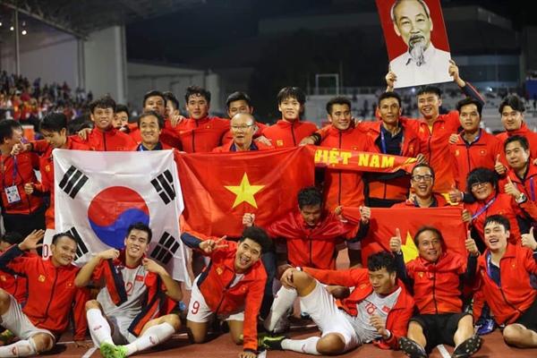 Chiến thắng lịch sử của bóng đá Việt Nam 2
