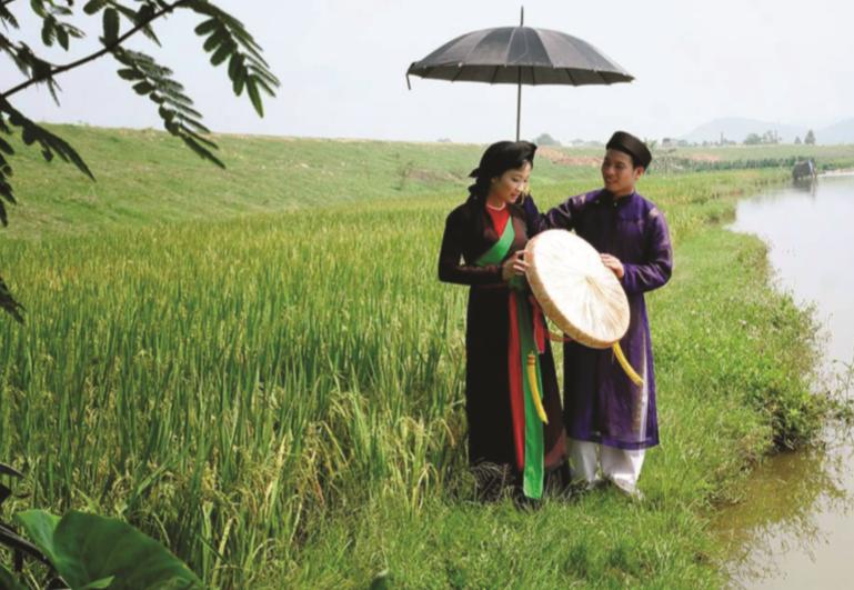 Quan họ Bắc Ninh trở thành một loại hình nghệ thuật đạt tới trình độ cao về diễn xướng, lời ca và âm nhạc