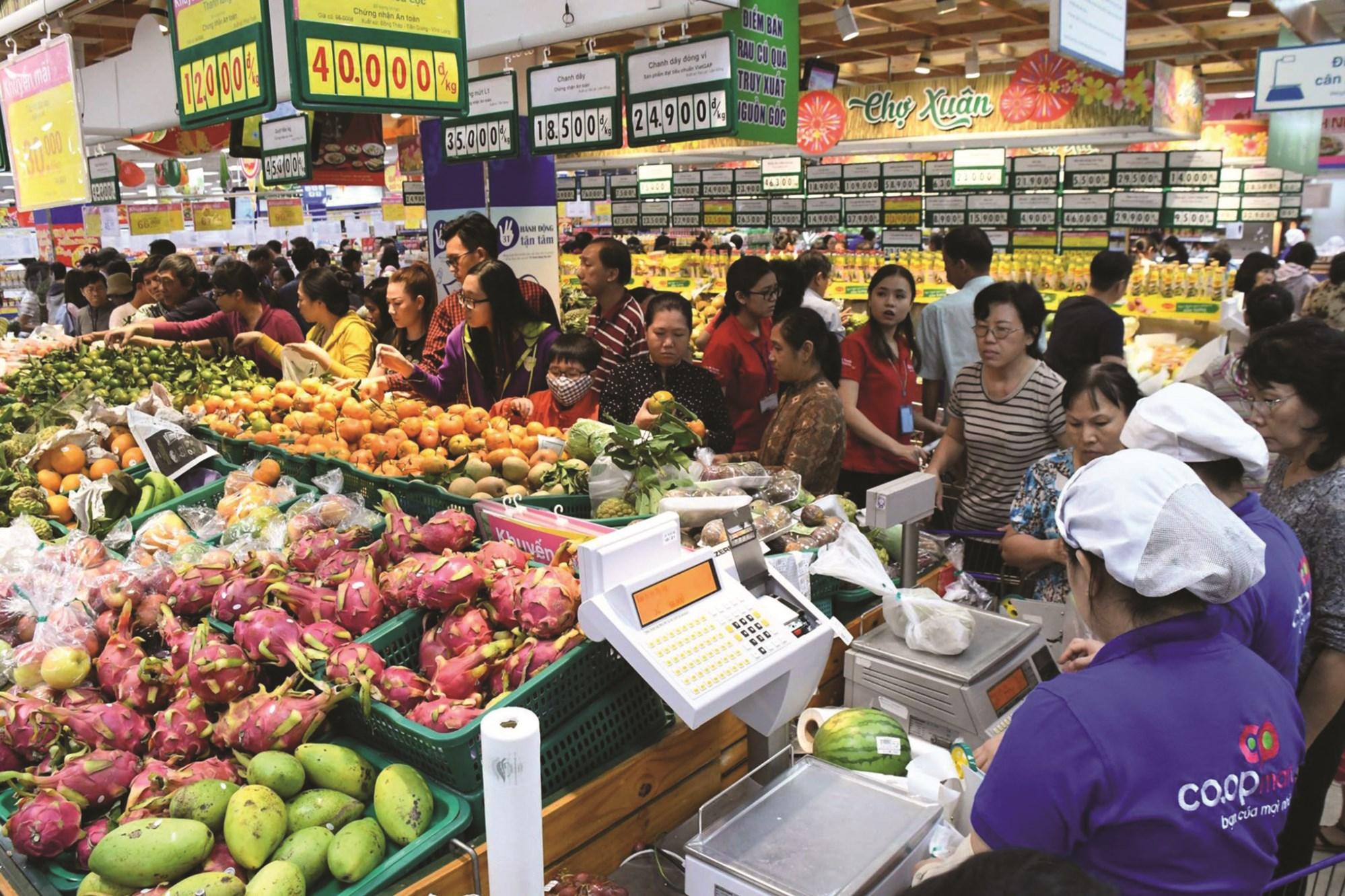 Các địa phương đã triển khai nhiều giải pháp để ổn định thị trường trong dịp Tết Nguyên đán Canh Tý