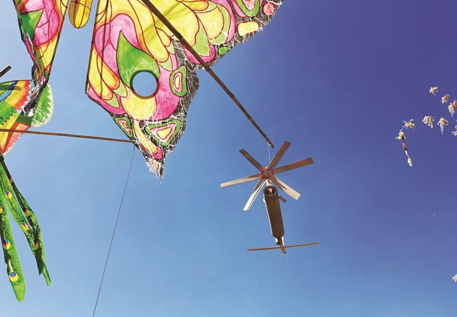 Chong chóng gió, một nghệ thuật của các dân tộc ở Tây Nguyên