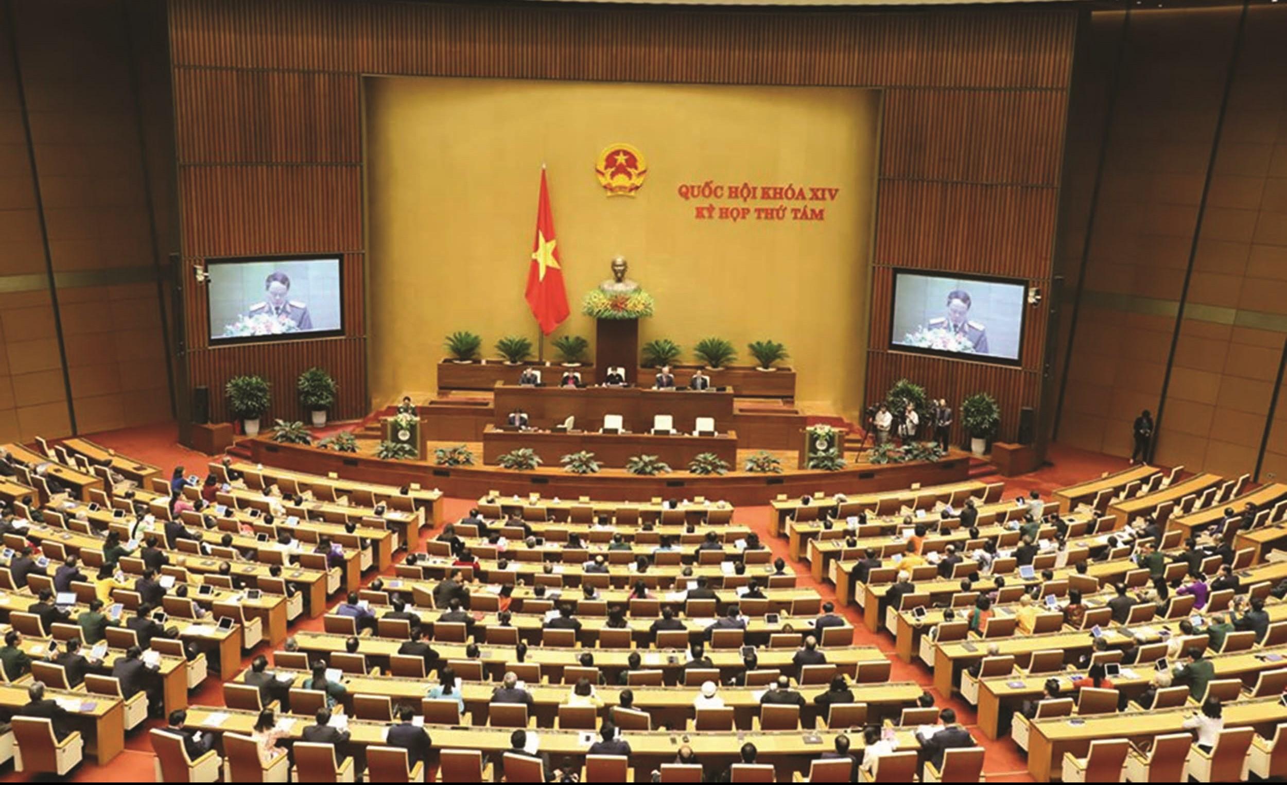 Kỳ họp thứ 8, Quốc hội khóa XIV bế mạc ngày 27/11/2019 sau 28 ngày làm việc nghiêm túc, dân chủ